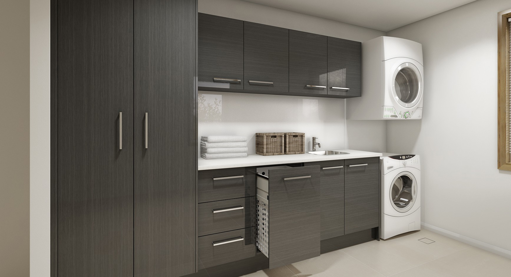 Laundry Room Cupboards