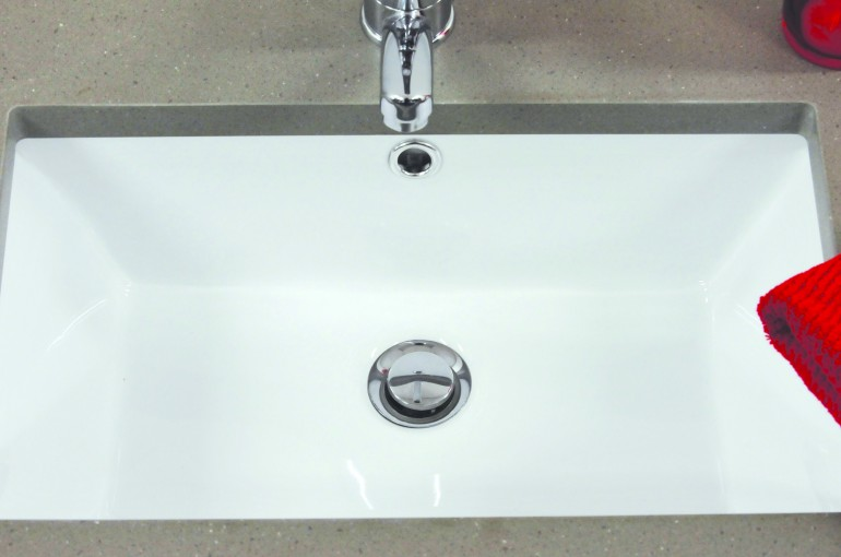 timberline bathroom products rectangle undermount basin